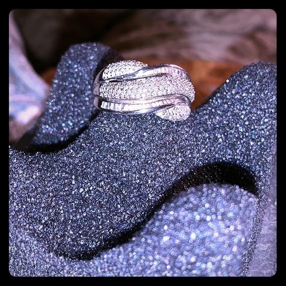 Kay Jewelers Jewelry - Kay's Jeweler's Sterling Silver Diamond Ring